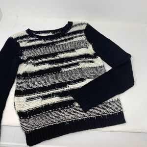 Alice & Olivia Striped Sweater XS CL